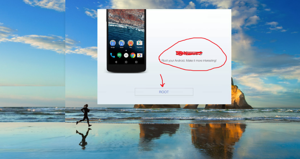 click-on-root-button-to-start-rooting-android-device