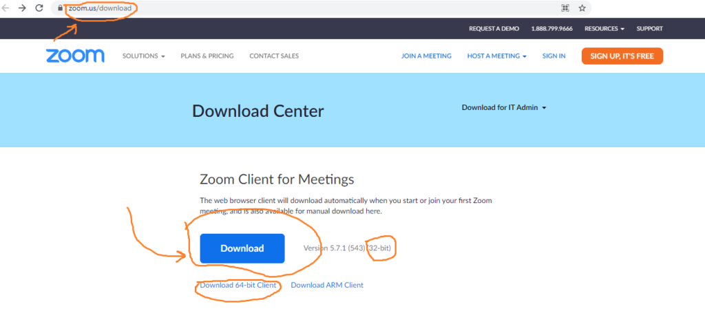 Free Download zoom app for pc windows from official link